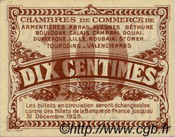 10 Centimes FRANCE régionalisme et divers NORD ET PAS-DE-CALAIS 1918 JP.094.02 SPL à NEUF