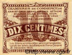10 Centimes FRANCE régionalisme et divers Nord et Pas-De-Calais 1918 JP.094.02 TTB à SUP