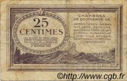 25 Centimes FRANCE régionalisme et divers Nord et Pas-De-Calais 1918 JP.094.03 TB