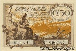 50 Centimes FRANCE régionalisme et divers NORD ET PAS-DE-CALAIS 1918 JP.094.04 SPL à NEUF