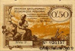 50 Centimes FRANCE régionalisme et divers NORD ET PAS-DE-CALAIS 1918 JP.094.04 TTB à SUP