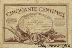 50 Centimes FRANCE régionalisme et divers Nord et Pas-De-Calais 1918 JP.094.04 TB