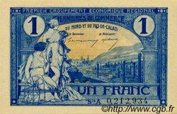 1 Franc FRANCE régionalisme et divers NORD ET PAS-DE-CALAIS 1918 JP.094.05 SPL à NEUF