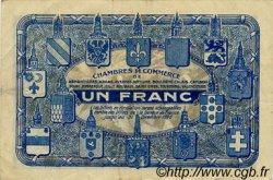 1 Franc FRANCE régionalisme et divers NORD ET PAS-DE-CALAIS 1918 JP.094.05 TTB à SUP