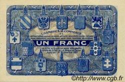 1 Franc FRANCE régionalisme et divers Nord et Pas-De-Calais 1918 JP.094.07 SPL à NEUF