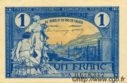 1 Franc FRANCE régionalisme et divers NORD ET PAS-DE-CALAIS 1918 JP.094.07 TTB à SUP