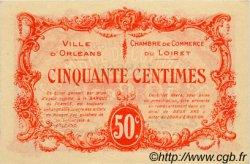 50 Centimes FRANCE régionalisme et divers Orléans 1915 JP.095.04 SPL à NEUF
