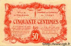 50 Centimes FRANCE régionalisme et divers ORLÉANS 1915 JP.095.04 TTB à SUP
