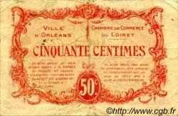 50 Centimes FRANCE régionalisme et divers ORLÉANS 1915 JP.095.04 TB