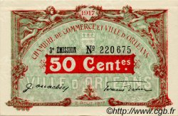 50 Centimes FRANCE régionalisme et divers ORLÉANS 1917 JP.095.16 SPL à NEUF