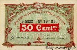 50 Centimes FRANCE régionalisme et divers ORLÉANS 1917 JP.095.16