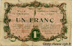 1 Franc FRANCE régionalisme et divers Orléans 1917 JP.095.17 TB