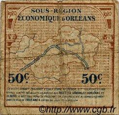 50 Centimes FRANCE régionalisme et divers Orléans et Blois 1920 JP.096.01 TB