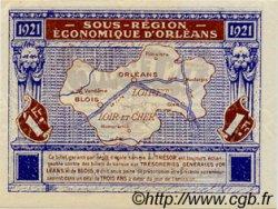 1 Franc FRANCE régionalisme et divers Orléans et Blois 1921 JP.096.07 SPL à NEUF