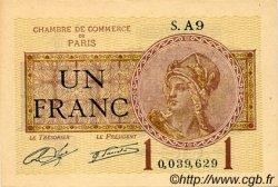 1 Franc FRANCE régionalisme et divers PARIS 1920 JP.097.23 TTB à SUP