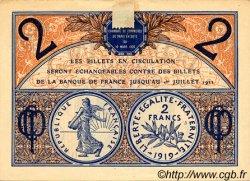2 Francs FRANCE régionalisme et divers Paris 1920 JP.097.28 TTB à SUP