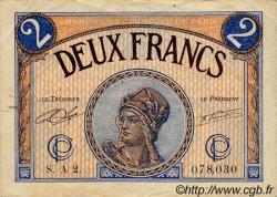 2 Francs FRANCE régionalisme et divers Paris 1920 JP.097.28 TB