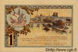 1 Franc FRANCE régionalisme et divers PARIS 1920 JP.097.36 SPL à NEUF
