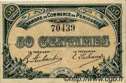 50 Centimes FRANCE régionalisme et divers Périgueux 1915 JP.098.09 TTB à SUP