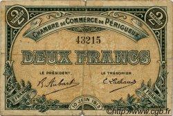 2 Francs FRANCE régionalisme et divers PÉRIGUEUX 1915 JP.098.11 TB