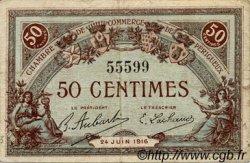 50 Centimes FRANCE régionalisme et divers PÉRIGUEUX 1916 JP.098.16 TB