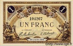 1 Franc FRANCE régionalisme et divers PÉRIGUEUX 1916 JP.098.18 SPL à NEUF