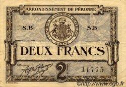2 Francs FRANCE régionalisme et divers Péronne 1920 JP.099.03 TTB à SUP