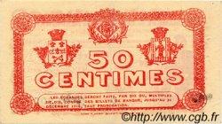 50 Centimes FRANCE régionalisme et divers PERPIGNAN 1915 JP.100.05 TTB à SUP
