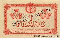 1 Franc FRANCE régionalisme et divers Perpignan 1915 JP.100.08 TTB à SUP