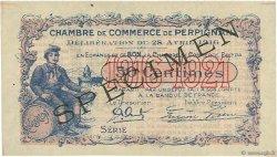 50 Centimes FRANCE régionalisme et divers Perpignan 1916 JP.100.15 TTB à SUP