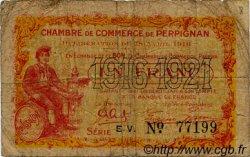 1 Franc FRANCE régionalisme et divers PERPIGNAN 1916 JP.100.17 TB