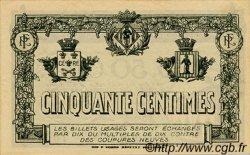 50 Centimes FRANCE régionalisme et divers PERPIGNAN 1917 JP.100.21 SPL à NEUF