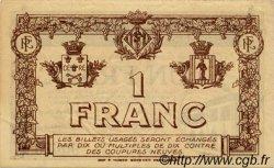 1 Franc FRANCE régionalisme et divers Perpignan 1919 JP.100.26 TTB à SUP