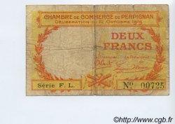 2 Francs FRANCE régionalisme et divers Perpignan 1919 JP.100.30 TB