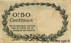 50 Centimes FRANCE régionalisme et divers PERPIGNAN 1921 JP.100.31 TTB à SUP