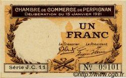 1 Franc FRANCE régionalisme et divers PERPIGNAN 1921 JP.100.32