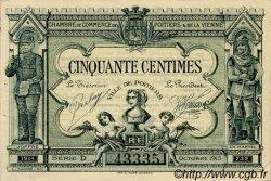 50 Centimes FRANCE régionalisme et divers POITIERS 1915 JP.101.01 TTB à SUP