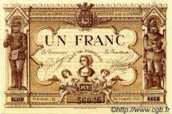 1 Franc FRANCE régionalisme et divers POITIERS 1915 JP.101.03 SPL à NEUF