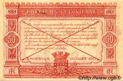 50 Centimes FRANCE régionalisme et divers Poitiers 1917 JP.101.08 SPL à NEUF