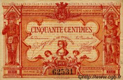 50 Centimes FRANCE régionalisme et divers POITIERS 1917 JP.101.08 TTB à SUP