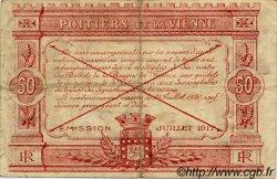 50 Centimes FRANCE régionalisme et divers Poitiers 1917 JP.101.08 TB