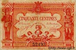 50 Centimes FRANCE régionalisme et divers POITIERS 1920 JP.101.11 TB