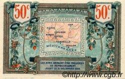 50 Centimes FRANCE régionalisme et divers ALAIS, ARLES, AVIGNON, GAP, MARSEILLE, NÎMES, TOULON 1918 JP.102.01 SPL à NEUF