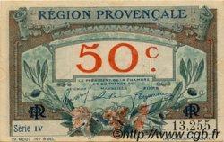 50 Centimes FRANCE régionalisme et divers Alais, Arles, Avignon, Gap, Marseille, Nîmes, Toulon 1918 JP.102.01 TTB à SUP
