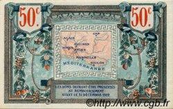 50 Centimes FRANCE régionalisme et divers ALAIS, ARLES, AVIGNON, GAP, MARSEILLE, NÎMES, TOULON 1918 JP.102.02 SPL à NEUF