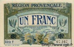 1 Franc FRANCE régionalisme et divers Alais, Arles, Avignon, Gap, Marseille, Nîmes, Toulon 1918 JP.102.04 SPL à NEUF