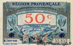 50 Centimes FRANCE régionalisme et divers ALAIS, ARLES, AVIGNON, GAP, MARSEILLE, NÎMES, TOULON 1918 JP.102.07 TTB à SUP