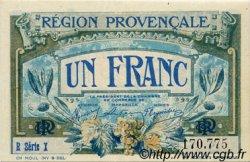 1 Franc FRANCE régionalisme et divers Alais, Arles, Avignon, Gap, Marseille, Nîmes, Toulon 1918 JP.102.08 SPL à NEUF