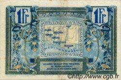 1 Franc FRANCE régionalisme et divers ALAIS, ARLES, AVIGNON, GAP, MARSEILLE, NÎMES, TOULON 1918 JP.102.08 TTB à SUP