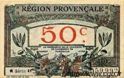 50 Centimes FRANCE régionalisme et divers Alais, Arles, Avignon, Gap, Marseille, Nîmes, Toulon 1918 JP.102.09 SPL à NEUF